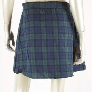 1f3c7ee7e Freestyle Skirts   Revolution Green Plaid Mini Skirt Sz Xl   Poshmark