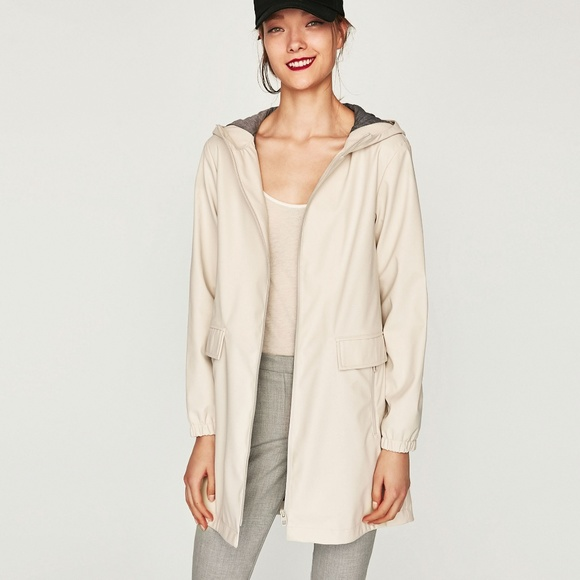 355b01f2 Zara Jackets & Coats | Water Repellent Parka Coat | Poshmark