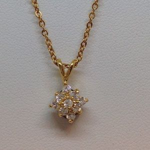 Jewelry - Reversible Double Sided Setting Necklace.