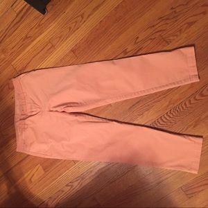GAP Broken-In Straight Khakis peach 6p