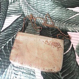 Handbags - Gold chain mail vintage purse