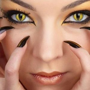 FRESHTONE Crazy Halloween sorted Eye Colors
