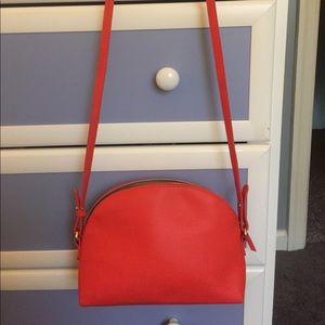 Simple Orange Crossbody Bag USED ONCE