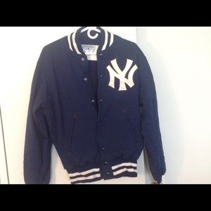Vintage 1970s Aladen athletic Yankees Team Jacket