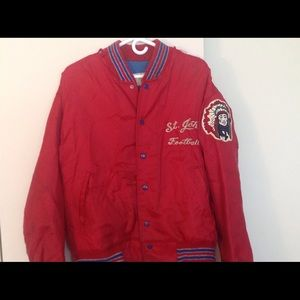 St. John's Football Player Jacket w Redman logo