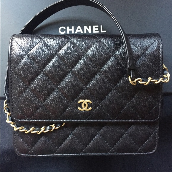 500673491ff7 CHANEL Bags | Square Woc With Gold Hardware | Poshmark