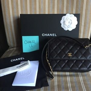 21db0338f41d CHANEL Bags - Chanel Square WOC with gold hardware