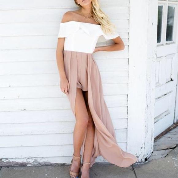 26b36c34178 luxxel Dresses   Skirts - Luxxel Maxi Romper