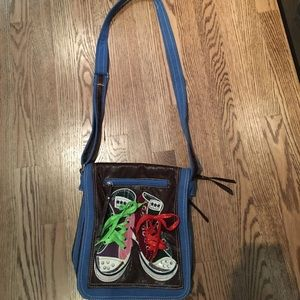 Crossbody Canvas bag bought in Italy
