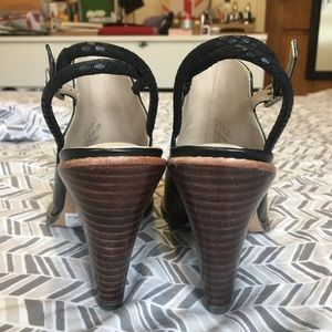 95706614df7 Clarks Shoes - Clarks Narrative Sarina Billy Peep Toe Sandal