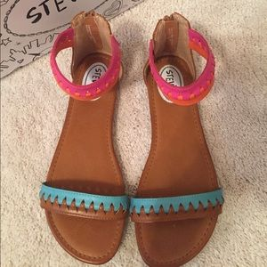a538658cebba Stevies Shoes - NWOT Stevie s sandals -Girls size 6