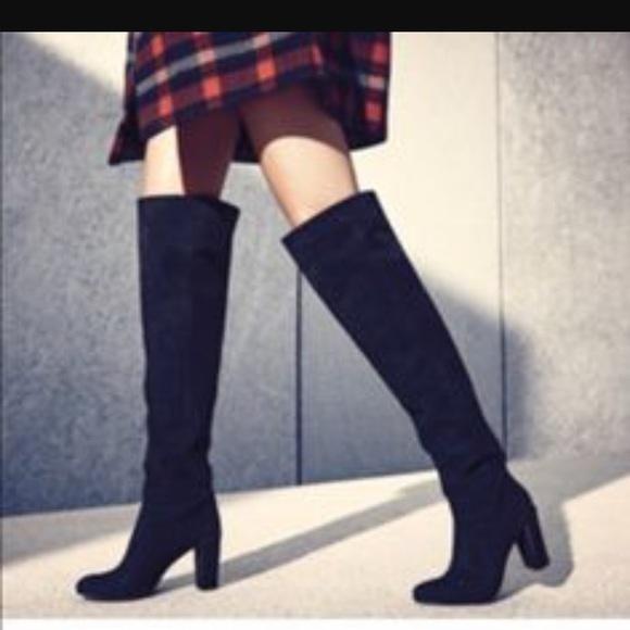 f6cfcccb624 Nine West Snowfall Black Suede Boots. M 59ac21cb4225be0904060af9