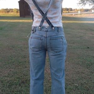 Urban Outfitters BDG Overall Suspender Jeans Pants