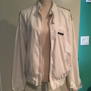 ⭐️SALE⭐️Unisex Members Only white jacket size 42