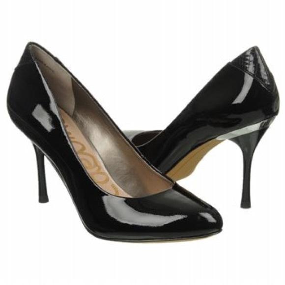 7c8a7ec2b7bc Sam Edelman Camdyn Black Patent Heels 7. M 59ac288df739bc98050613cd