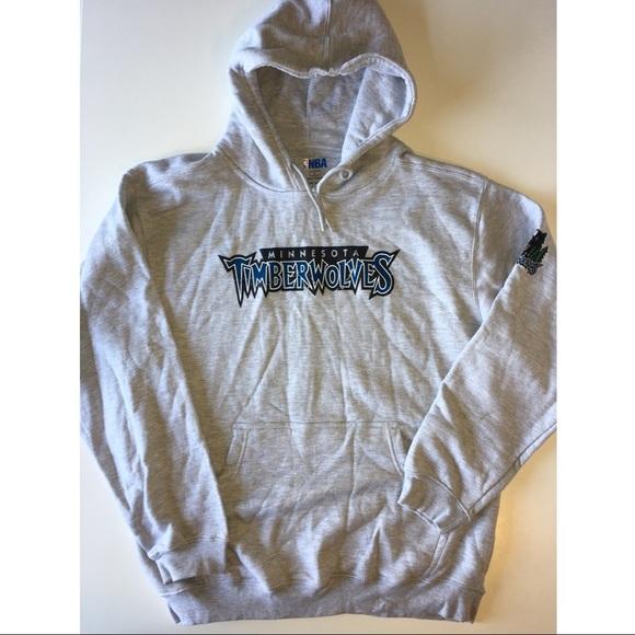 Nba Fan Apparel Shirts Minnesota Timberwolves Hoodie Size Large
