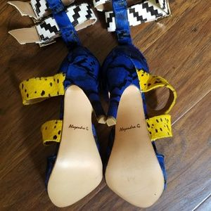 Alejandra G. Shoes - Alejandra G Mendoza Blue Multi