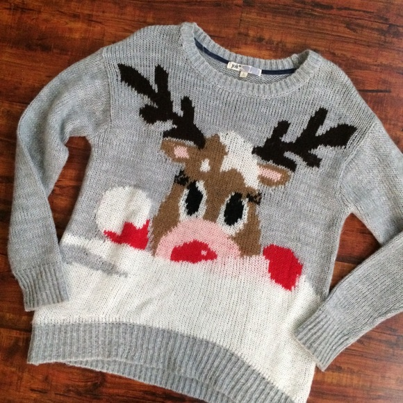 1f1db96f98 Jolt Sweaters - Reindeer Sweater Large