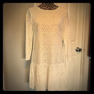 Drop waist lace dress, CeCe by Cynthia Steffe