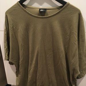 Publish Olive  long Tshirt