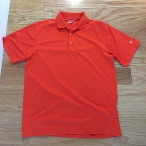 Nike golf shirt dry fit