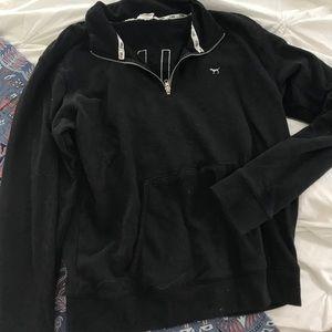 VS PINK black sweatshirt pullover