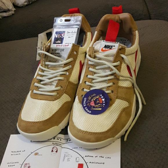 fc55faacbb68 Nike Mars Yard TS Tom Sachs size 10 USA men. M 59ac3b6b56b2d6ee36066b31