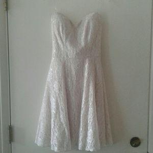 Speechless blush dress.