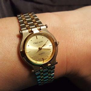 Olga Corsini Accessories   Oleg Cassini Silver And Gold ...
