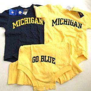 NWT Michigan onesie