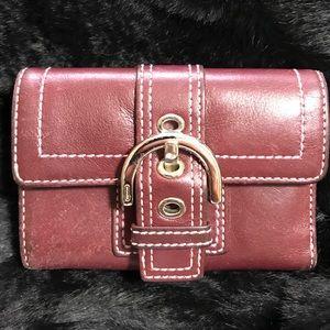 Vintage Coach wallet.