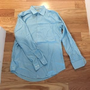 Nordstrom trim fit button down iron free