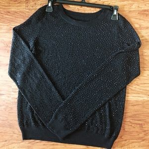 Alice & Olivia beaded sweater Excellent condition