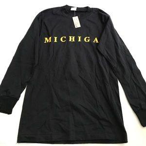 NWT kids Michigan shirt