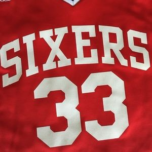 b1e2fe5ca43 adidas Shirts - Adidas Andrew Bynum  33 Sixers Jersey