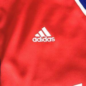 b1e2fe5ca43 adidas Shirts - Adidas Andrew Bynum  33 Sixers Jersey