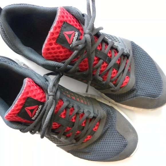f2dddf1d8464 Reebok Men s Running Shoes 13 Gray   Orange