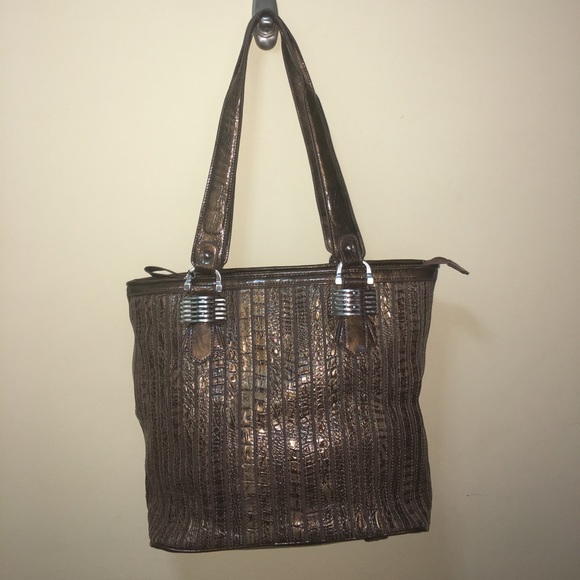 e688e85dc0de M.C. Genuine Leather Handbag