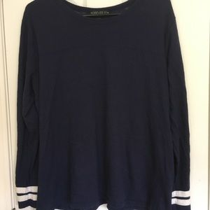 Forever 21+ Long Sleeve Athletic Style Tee