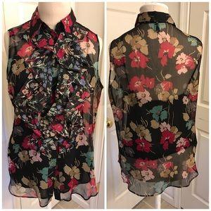 Ralph Lauren sleeveless blouse