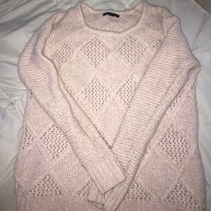 American eagle light pink loose sweater