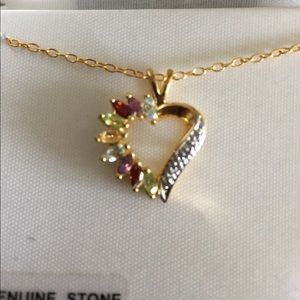 Other - Heart Pendant Necklace