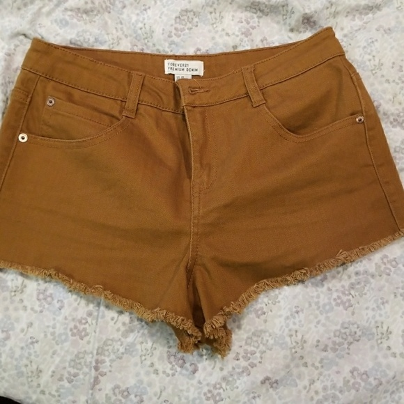 Forever 21 Pants - Rust colored shorts