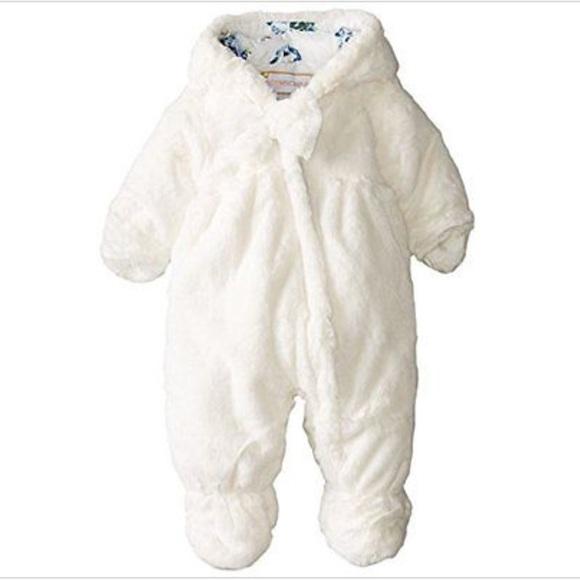 1f2ddbda5 Rothschild Jackets & Coats | Baby Faux White Snowsuit Nwt | Poshmark