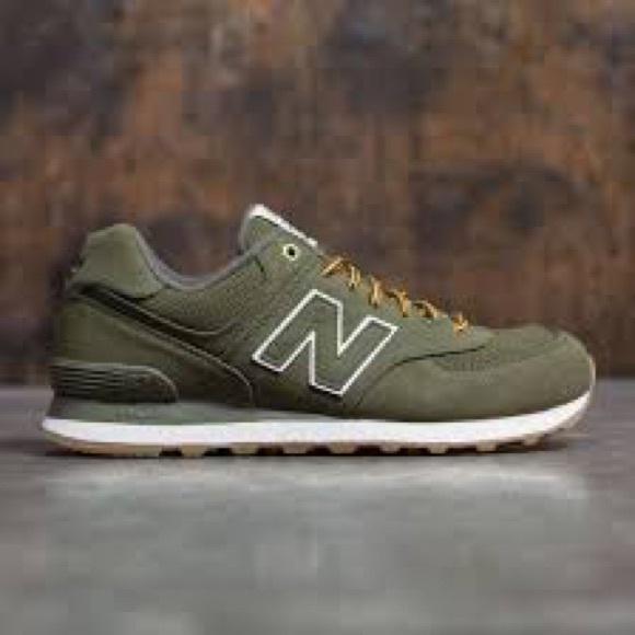 cheap for discount e4a6b 6a523 ... New Balance 574 Shoes Army Green. M 59ac5c9313302a5a68073c20