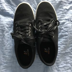 Other - Black canvas sneakers