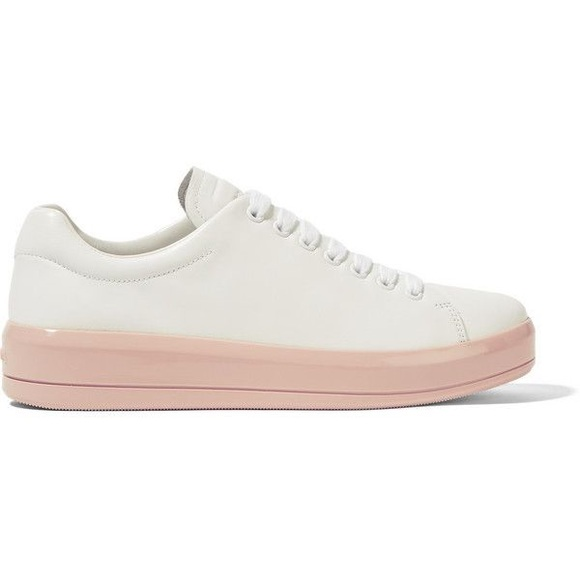 Prada Lace-up platform sneakers outlet collections RaTVkO