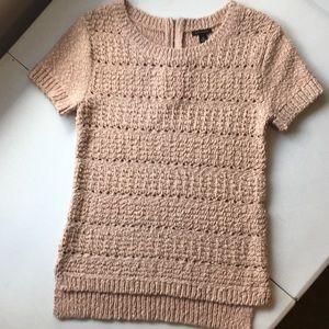 Ann Taylor open-weave sweater top