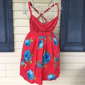 Abercrombie and Fitch Red Summer Dress