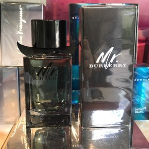 MR BURBERRY EDT 150ML 5OZ FOR MAN NEW BIG BOTTLE